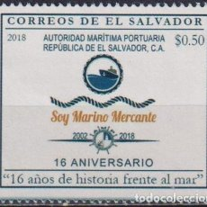 Sellos: ⚡ DISCOUNT SALVADOR 2018 THE 16TH ANNIVERSARY OF THE MARITIME PORT AUTHORITY MNH - SEA. Lote 267408324