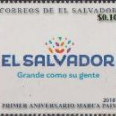 Sellos: ⚡ DISCOUNT SALVADOR 2018 THE 1ST ANNIVERSARY OF THE EL SALVADOR MARK OF QUALITY MNH - SHIPS,. Lote 267408359