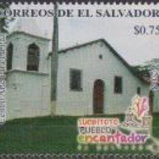 Sellos: ⚡ DISCOUNT SALVADOR 2018 TOURISM - LANDMARKS OF SUCHITOTO MNH - ARCHITECTURE, TOURISM. Lote 267408374