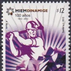 Sellos: ⚡ DISCOUNT URUGUAY 2012 THE 100TH ANNIVERSARY OF MINING MNH - PRODUCTION, MINERALS. Lote 267408684