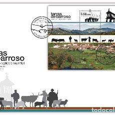 Sellos: PORTUGAL & FDCB TIERRAS DE BARROSO, PATRIMONIO AGRÍCOLA MUNDIAL 2021 (77685. Lote 270094068