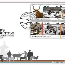 Sellos: PORTUGAL & FDC TIERRAS DE BARROSO, PATRIMONIO AGRÍCOLA MUNDIAL 2021 77686). Lote 270094828