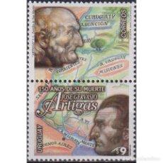 Sellos: ⚡ DISCOUNT URUGUAY 2000 THE 150TH ANNIVERSARY OF THE DEATH OF JOSE GERVASIO ARTIGAS MNH - CA. Lote 270389373