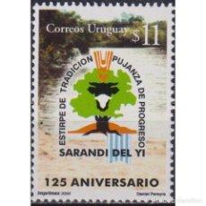 Sellos: ⚡ DISCOUNT URUGUAY 2000 THE 125TH ANNIVERSARY OF SARANDI DEL YI MNH - TOURISM, PONDS. Lote 270389453