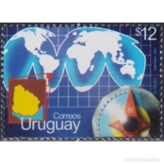 Sellos: ⚡ DISCOUNT URUGUAY 2003 INTERNATIONAL RELATIONS MNH - CARDS, DIPLOMACY. Lote 270389738