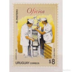 Sellos: ⚡ DISCOUNT URUGUAY 2008 OCCUPATIONS MNH - AGRICULTURE, WORKERS. Lote 270390683