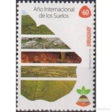 Sellos: ⚡ DISCOUNT URUGUAY 2015 INTERNATIONAL YEAR OF SOILS MNH - LAND, NATURE. Lote 270392108