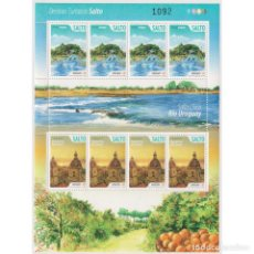 Sellos: ⚡ DISCOUNT URUGUAY 2015 TOURISM - SALTO MNH - CHURCHES, TOURISM, PONDS. Lote 270392158