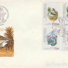 Sellos: PORTUGAL & FDC RESERVA NATURAL DE LAS AVES DEL ESTUARIO DEL TAJO, LISBOA 1982 (22). Lote 278931563