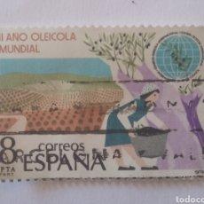 Sellos: SELLO ESPAÑA AÑO OLEÍCOLA 8 PESETAS USADO 1979. Lote 285689093