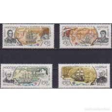Sellos: ⚡ DISCOUNT RUSSIA 1994 THE 300TH ANNIVERSARY OF RUSSIAN NAVY.EXPLORATIONS MNH - SHIPS, CARDS. Lote 289988173