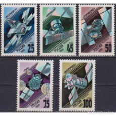 Sellos: ⚡ DISCOUNT RUSSIA 1993 COMMUNICATIONS SATELLITES MNH - SPACE, SATELLITES, COMMUNICATION, TEL. Lote 289988188