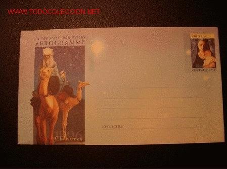 NAVIDAD AEROGRAMA AUSTRALIA 1996 (Sellos - Temáticas - Navidad)