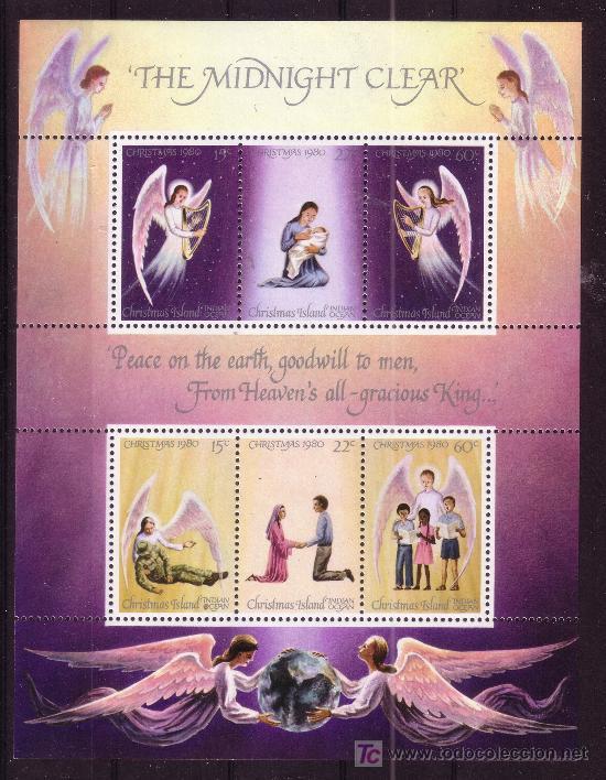 CHRISTMAS HB 1*** - AÑO 1980 - NAVIDAD (Sellos - Temáticas - Navidad)