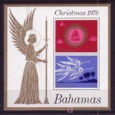 Sellos: BAHAMAS HB 25*** - AÑO 1978 - NAVIDAD . Lote 23074310