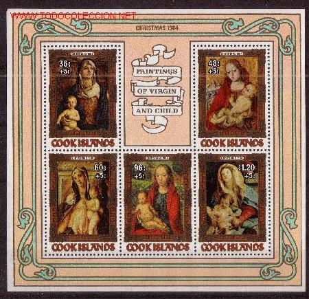COOK HB 146*** - AÑO 1984 - NAVIDAD - PINTURA - OBRAS DE LOS SIGLOS XV - XVI Y XVII (Sellos - Temáticas - Navidad)