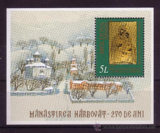 MOLDAVIA HB 24*** - AÑO 2000 - NAVIDAD - PINTURA RELIGIOSA (Sellos - Temáticas - Navidad)