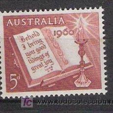 Sellos: AUSTRALIA - NAVIDAD 1960. Lote 12553888
