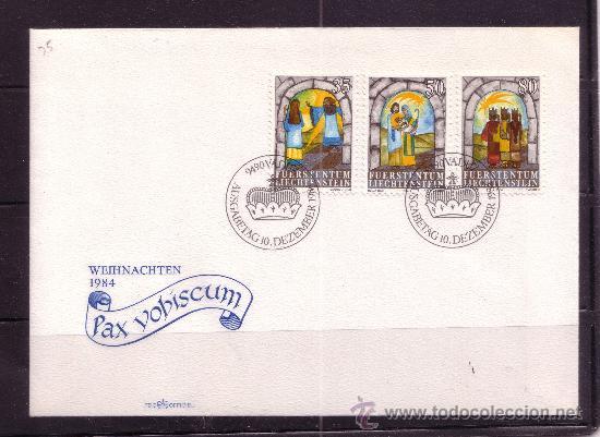 LIECHTENSTEIN SPD 804/06 - AÑO 1984 - NAVIDAD (Sellos - Temáticas - Navidad)