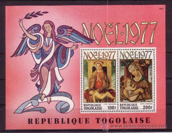 TOGO HB 112*** - AÑO 1977 - NAVIDAD - PINTURA RELIGIOSA - OBRAS DE BELLINI Y CRIVELLI (Sellos - Temáticas - Navidad)