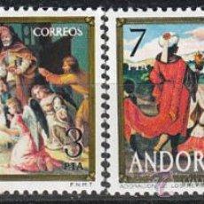 Sellos: ANDORRA EDIFIL Nº 100/1, NAVIDAD 1975, NUEVO. Lote 25345239