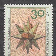 Sellos: ALEMANIA IVERT Nº 639. NAVIDAD 1973, NUEVO. Lote 21695512