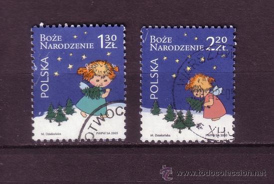 POLONIA 3968/69 - AÑO 2005 - NAVIDAD (Sellos - Temáticas - Navidad)