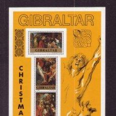 Sellos: GIBRALTAR HB 4*** - AÑO 1977 - NAVIDAD - PINTURA - 400º ANIVERSARIO DEL NACIMIENTO DE RUBENS. Lote 23376399