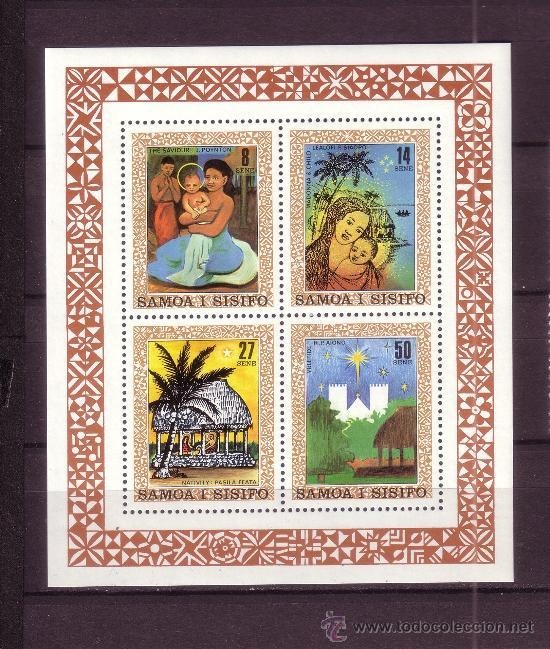SAMOA HB 24*** - AÑO 1980 - NAVIDAD (Sellos - Temáticas - Navidad)