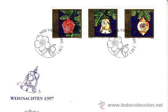 1997 LIECHTENSTEIN NAVIDAD (Sellos - Temáticas - Navidad)