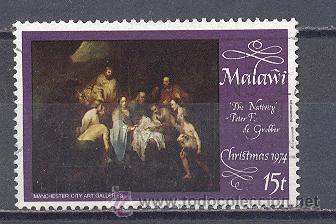 MALAWI- NAVIDAD 1974- USADO (Sellos - Temáticas - Navidad)
