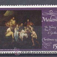 Sellos: MALAWI- NAVIDAD 1974- USADO. Lote 24541880