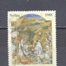 Sellos: IRLANDA- 1988- NAVIDAD- YVERT TELLIER 668. Lote 24678145