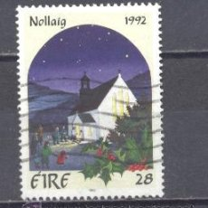 Sellos: IRLANDA- 1992- NAVIDAD- YVERT TELLIER 817. Lote 24678165