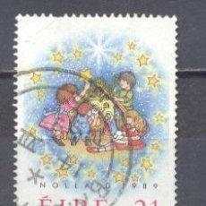 Sellos: IRLANDA- 1989- NAVIDAD- YVERT TELLIER 700. Lote 24678206