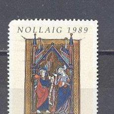 Sellos: IRLANDA- 1989- NAVIDAD- YVERT TELLIER 697. Lote 24678257