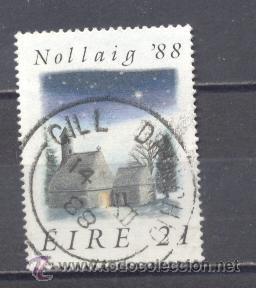 IRLANDA- 1988- NAVIDAD- YVERT TELLIER 641 (Sellos - Temáticas - Navidad)