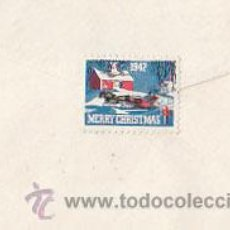Sellos: ESTADOS UNIDOS, SOBRE CIRCULADO PASADENA A MASSACHUSSET EL 5-12-1942 CON SELLO DE NAVIDAD CHRISTMAS . Lote 25713409