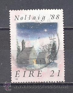 IRLANDA- 1988- YVERT TELLIER 671 (Sellos - Temáticas - Navidad)