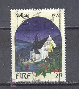 IRLANDA- 1992- YVERT TELLIER 817 (Sellos - Temáticas - Navidad)