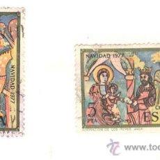 Sellos: SELLOS NAVIDAD , AÑO 1977. Lote 28777764