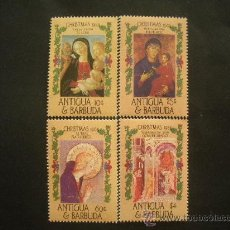 Sellos: ANTIGUA Y BARBUDA 1985 IVERT 881/4 *** NAVIDAD - PINTURA RELIGIOSA. Lote 30822186