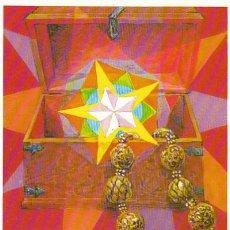 Sellos: LIECHTENSTEIN IVERT 826, NAVIDAD 1985 (PRESENTES DE LOS REYES: ORO), TARJETA MAXIMA DE 9-12-1985. Lote 32333056