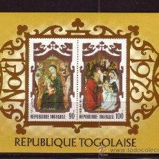 Sellos: TOGO HB 73*** - AÑO 1973 - NAVIDAD - PINTURA RELIGIOSA. Lote 32390635