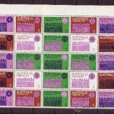 Sellos: AUSTRALIA 450/56 MP*** - AÑO 1971 - NAVIDAD. Lote 34506383