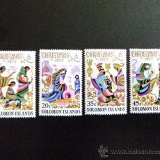 Sellos: SOLOMON ISLANDS -ISLAS SALOMON AÑO 1997 YV 336 - 339 MNH. Lote 34587477
