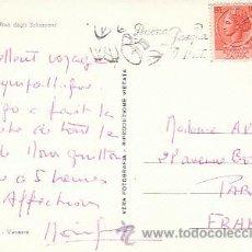Sellos: ITALIA, FELICES PASCUAS DEL CORREO ITALIANO, MATASELLO DE 16-4-1957. Lote 35692039
