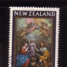 Sellos: NUEVA ZELANDA 432 - AÑO 1965 - NAVIDAD - PINTURA RELIGIOSA - OBRA DE MURILLO. Lote 36204970