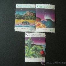 Sellos: CHRISTMAS ISLAND 1993 IVERT 396/8 *** NAVIDAD - PAISAJES. Lote 39159921