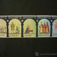 Sellos: CHRISTMAS ISLAND 1986 IVERT 210/4 *** NAVIDAD - ESCENAS DE NAVIDAD. Lote 39160021